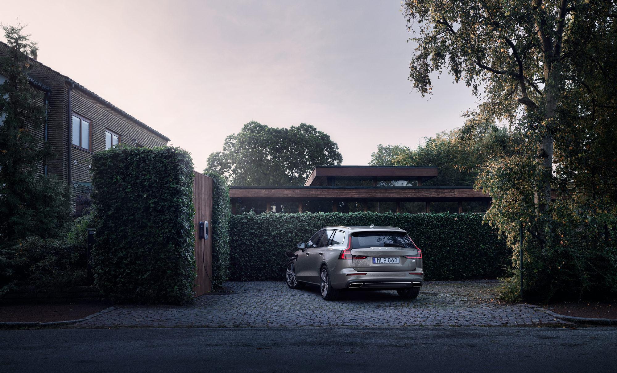 Volvo V60 wallbox